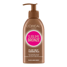 Loreal Sublime Bronze Silky Lotion 150ml - itseruskettava voide