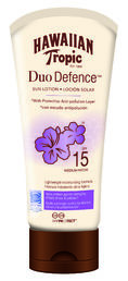 Hawaiian Tropic - Duo Defence Sun Lotion (SPF 15) - 180 ml