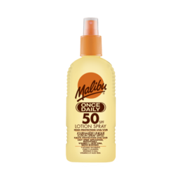 Malibu - Once Daily Sun Lotion - Spray (SPF50)