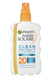 Garnier Ambre Solaire - Clear Protect Refresh - Aurinkosuojasuihke (SPF20) - 200ml