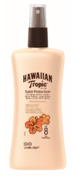 Hawaiian Tropic - Satin Protection Spray Lotion (SPF8) - 200 ml
