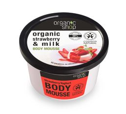 Organic Shop - Strawberry Yoghurt kosteusvoide