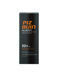 Piz Buin - Allergy Sun Sensitive Skin Face Cream - aurinkosuojavoide kasvoille (SPF50+) - 50ml