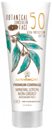 Australian Gold - Botanical Tinted Face Cream SPF50 Aurinkovoide kasvoille 88ml - UUTUUS!