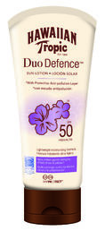 Hawaiian Tropic - Duo Defence Sun Lotion SPF 50 180 ml
