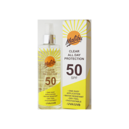 Malibu - Once Daily Clear Protection (SPF50)