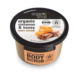Organic Shop - Honey Cinnamon kuorintavoide