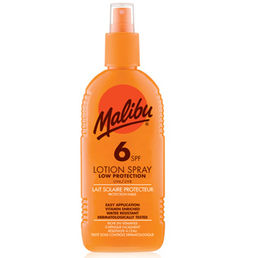 Malibu - Sun Lotion Spray (SPF6)