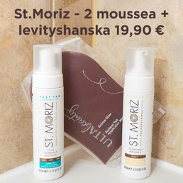 St. Moriz - Self Tanning Mousse (Dark)